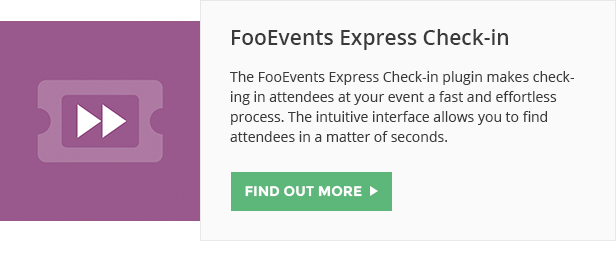 FooEvents Express Checkins